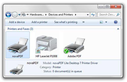 PDF-принтер