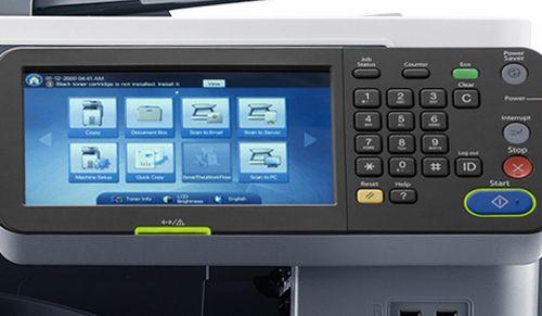 Кнопки на принтере