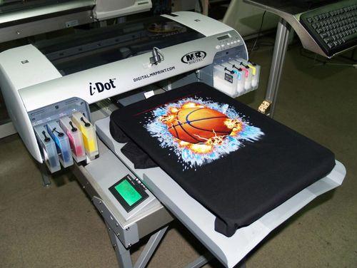 Текстильный принтер для футболок