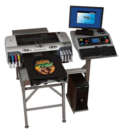 Цифровой струйный принтер