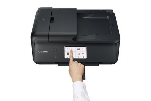 Работа принтера Canon